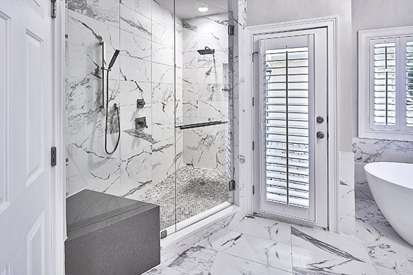 a marble master suite; remodel your home with case charlotte