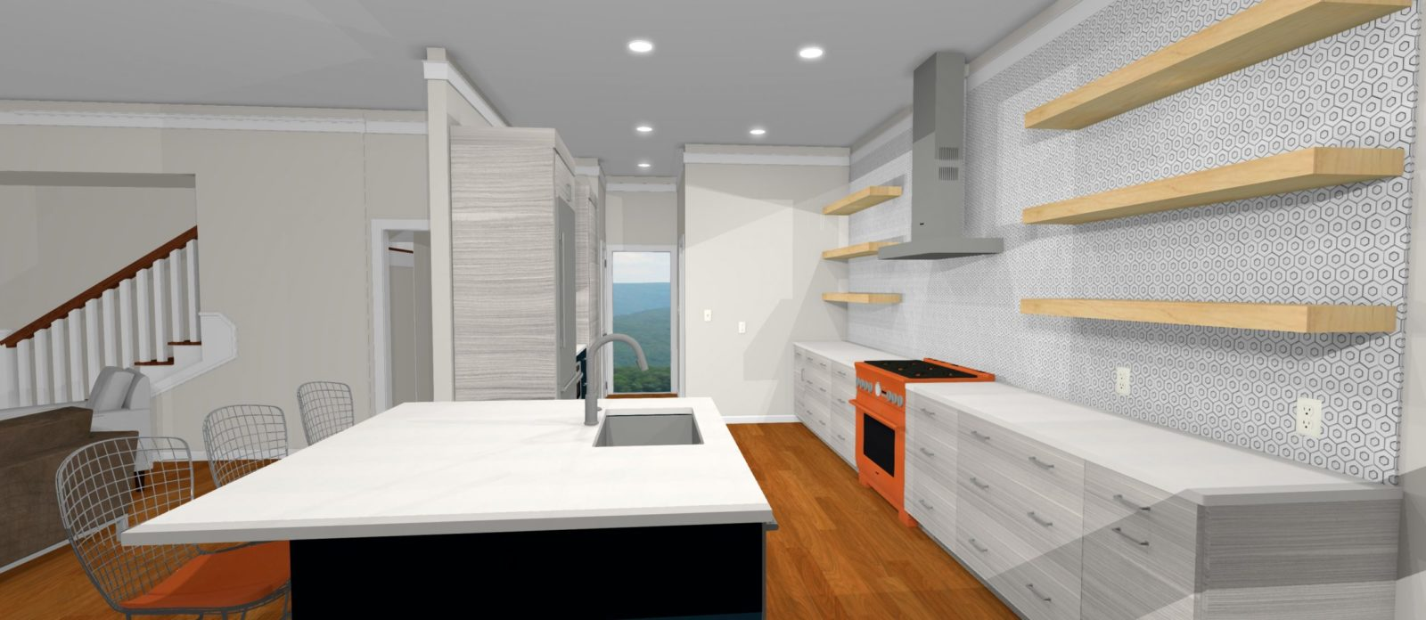 a virtual rendering of your soon-to-be remodeled home
