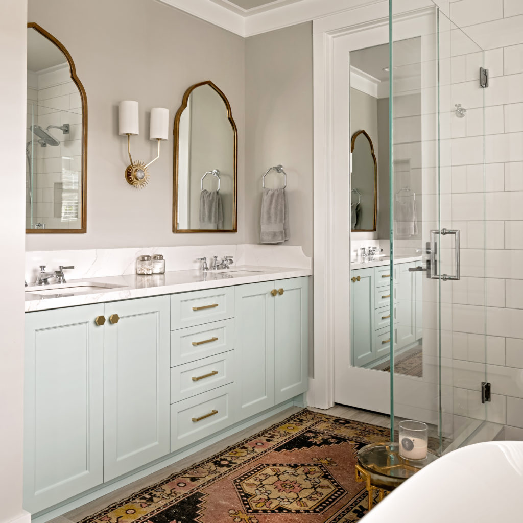 How Would A Designer Remodel Their Master Bathroom?