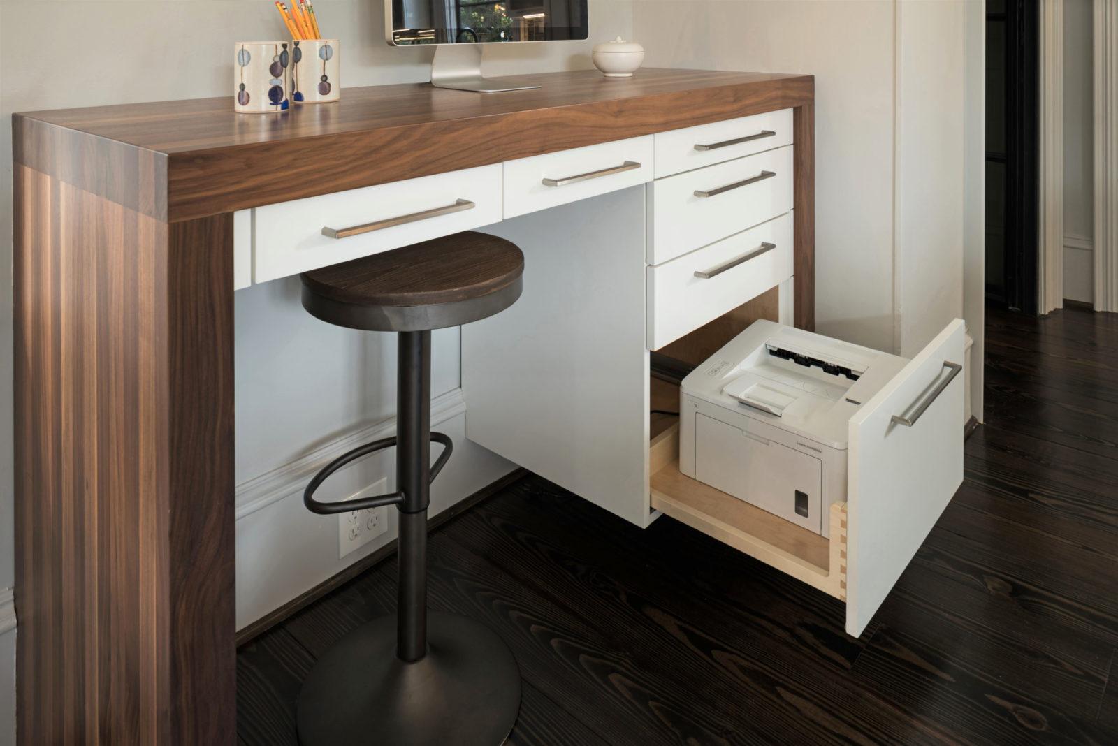 kitchen-storage-standing-desk-hidden-printer-drawer