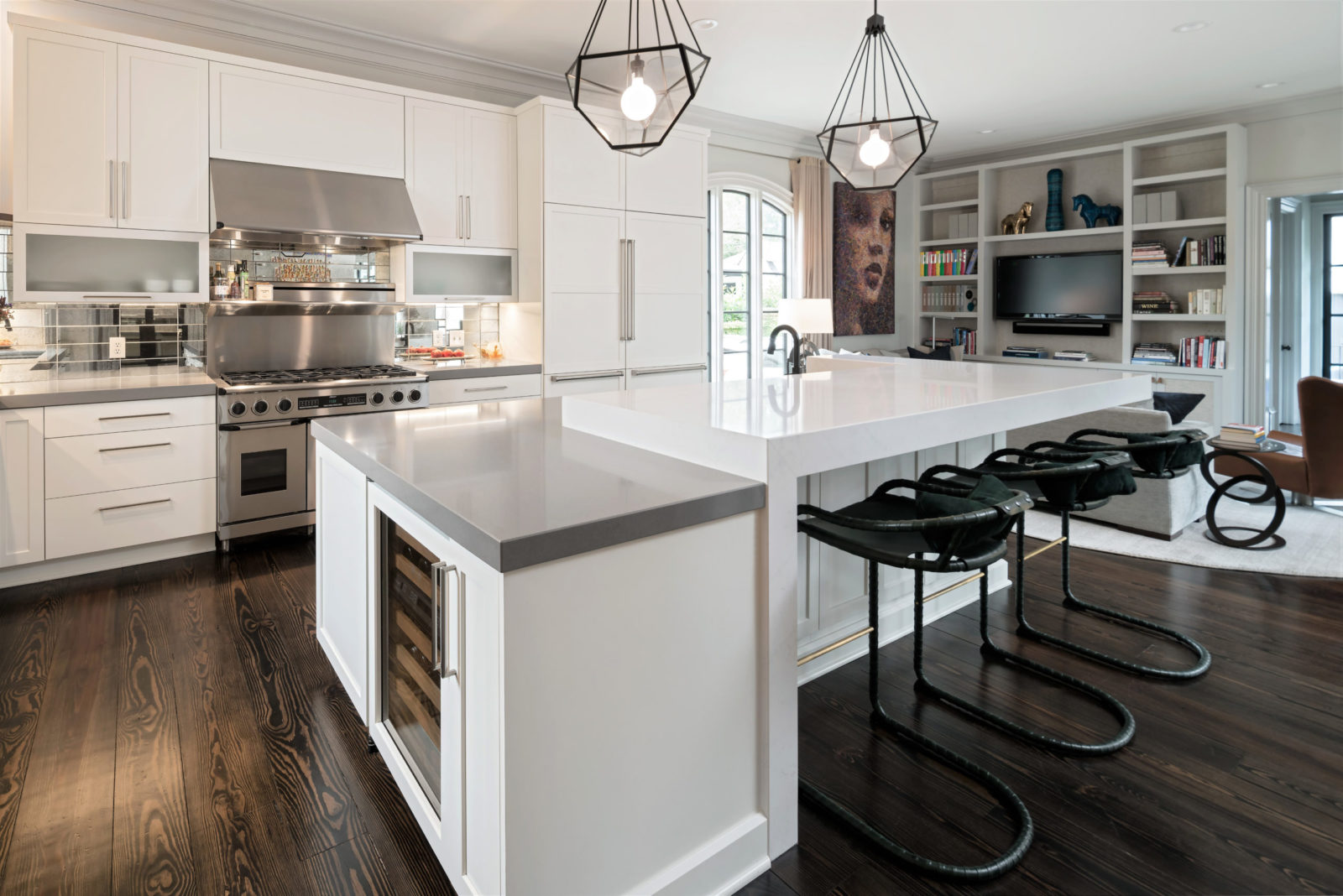 kitchen-storage-two-tiered-island-with-waterfall-edge